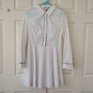 English Factory white dress medium NWT ModCloth